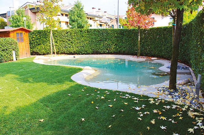 une belle piscine m me en hiver piscine bio design. Black Bedroom Furniture Sets. Home Design Ideas
